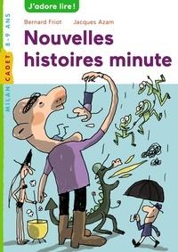 Nouvelles histoires minute - Bernard Friot | Showmesound.org