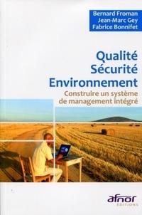 Deedr.fr Qualité Sécurité Environnement - Construire un système de management intégré Image