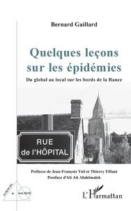 Bernard Gaillard - Quelques leçons sur les épidémies - Du global au local sur les bords de la Rance.