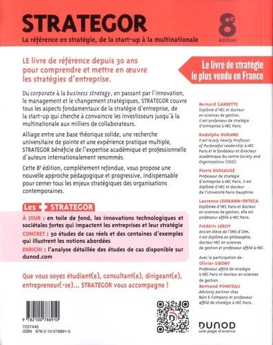 Strategor. La référence en stratégie, de la start-up à la multinationale 8e édition