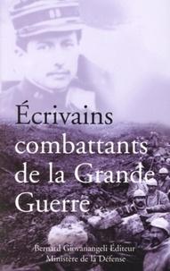 Bernard Giovanangeli et Jean Bastier - Ecrivains combattants de la Grande Guerre.