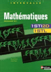 Bernard Girard et Joseph Regan - Mathématiques 1e STI2D et STL - Programme 2011.