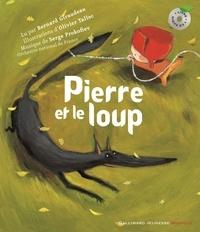 Bernard Giraudeau et Serge Prokofiev - Pierre et le loup - 1 livre plus 1 CD Audio.