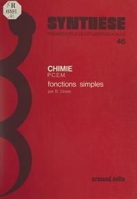 Bernard Gross et Antoine Chapman - Fonctions simples.