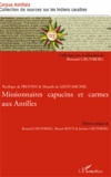 Bernard Grunberg et Benoît Roux - Pacifique de Provins & Maurile de Saint-Michel - Missionnaires capucins et carmes aux Antilles.