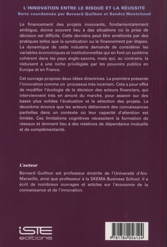 Le capital-risque et le financement de l'innovation. Volume 5