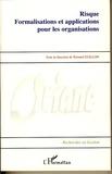 Bernard Guillon - Risque formalisation et applications pour les organisations.