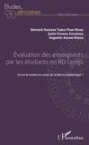 Bernard-Gustave Tabezi Pene-Magu et Augustin Assani Nzogu - Evaluation des enseignants par les étudiants en RD Congo - Est-ce la remise en cause de la liberté académique ?.