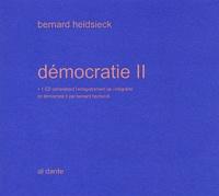 Bernard Heidsieck - Démocratie II. 1 CD audio