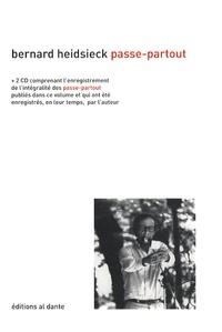 Bernard Heidsieck - Passe-Partout (1969-2004). 2 CD audio