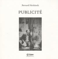 Bernard Heidsieck - Publicité. 1 CD audio