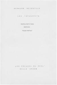 Bernard Heidsieck - Tapuscrits - Poèmes-partitions, biopsies, passe-partout.