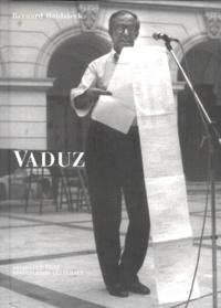 Bernard Heidsieck - Vaduz. 1 CD audio
