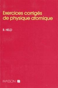 Deedr.fr Exercices corrigés de physique atomique Image