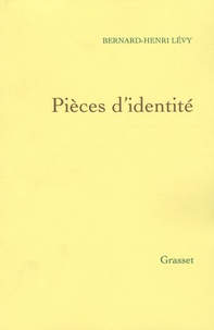 Pièces d'identité- Questions de principe 9 - Bernard-Henri Lévy pdf epub