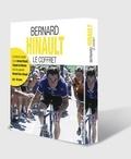 Bernard Hinault et Christian Laborde - Bernard Hinault - Coffret en 2 volumes : Bernard Hinault, l'épopée du Blaireau ; Bernard face à Hinault, analyse d'une légende. Avec une affiche.