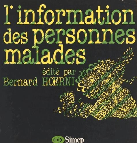 Information des personnes malades