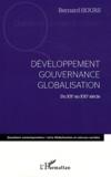 Bernard Hours - Développement, gouvernance, globalisation - Du XXe au XXIe siècle.