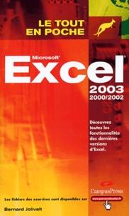 Bernard Jolivalt - Excel 2002 et 2003.