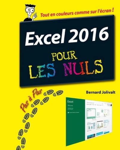 Excel 2016 pas à pas pour les nuls - Bernard Jolivalt - Format ePub - 9782754087360 - 11,99 €
