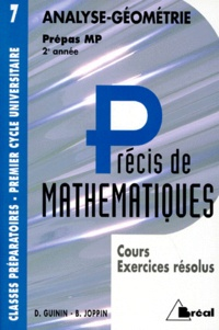 PRECIS DE MATHEMATIQUES. Tome 7, Analyse-géométrie, cours et exercices résolus, prépas MP 2ème année.pdf