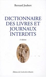Galabria.be Dictionnaire des livres et journaux interdits - Par arrêtés ministériels de 1949 à nos jours Image