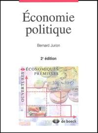 Bernard Jurion - Economie politique.