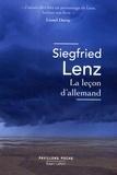 Bernard Kreiss et Siegfried Lenz - Pavillons Poche  : La Leçon d'allemand.