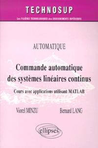 Bernard Lang et Viorel Minzu - .