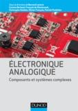 Bernard Latorre et François de Dieuleveult - Electronique analogique.