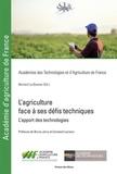 Bernard Le Buanec - L'agriculture face à ses défis techniques - L'apport des technologies.