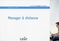 Bernard Le Clech - Manager à distance.