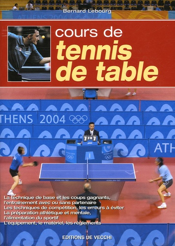 Bernard Lebourg - Cours de tennis de table.