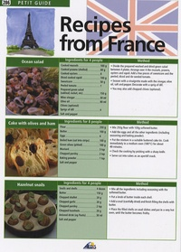 Recipes from France - Edition en langue anglaise.pdf