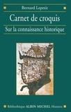 Bernard Lepetit - Carnet de croquis.