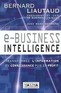 Histoiresdenlire.be E-business intelligence. Transformez l'information en connaissance puis en profit Image