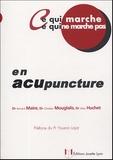 Bernard Maire et Christian Mouglalis - Ce qui marche, ce qui ne marche pas en acupuncture.