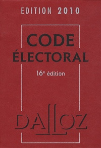 Bernard Maligner - Code électoral 2010.