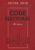 Bernard Maligner - Code électoral 2012.