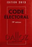 Bernard Maligner - Code électoral 2013.