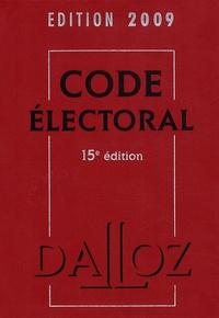 Bernard Maligner - Code électoral.