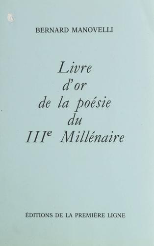 Livre d'or de la poésie du IIIe millénaire