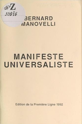 Manifeste universaliste