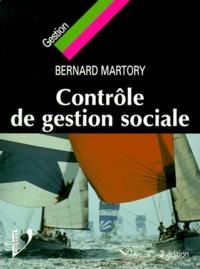 Bernard Martory - Contrôle de gestion sociale.