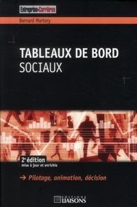 Bernard Martory - Tableaux de bord sociaux - Pilotage, animation, décision.