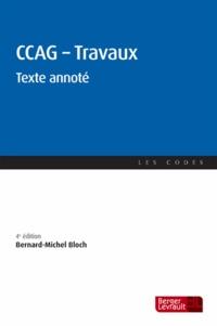 Bernard-Michel Bloch - CCAG - Travaux - Texte annoté.
