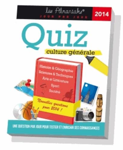 Bernard Montelh et Marie Devouge - Quiz culture générale 2014.