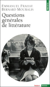 Bernard Mouralis et Emmanuel Fraisse - .
