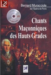 Bernard Muracciole - Chants maçonniques des hauts grades. 1 CD audio