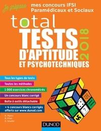 Bernard Myers et Benoît Priet - TOTAL Tests d'aptitude et psychotechniques - 2018 - Concours IFSI, IFAP, Orthophoniste, Ergothérapeute.